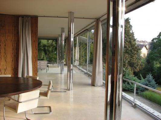 Architektur, Brno, Mies van der Rohe, Moderne, Tschechien, Villa Tugendhat