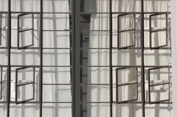 Architektur, Bauhaus, Bauhausgebäude, Dessau, Walter Gropius