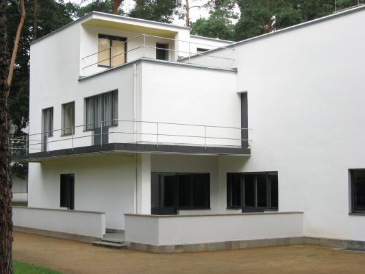 Urlaub, Dessau, Architektur, Moderne