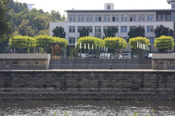 Altstadt, Architektur, Dresden, Elbe, Landschaftsarchitektur, Landtag