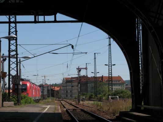 Dresden, Neustadt, Eisenbahn