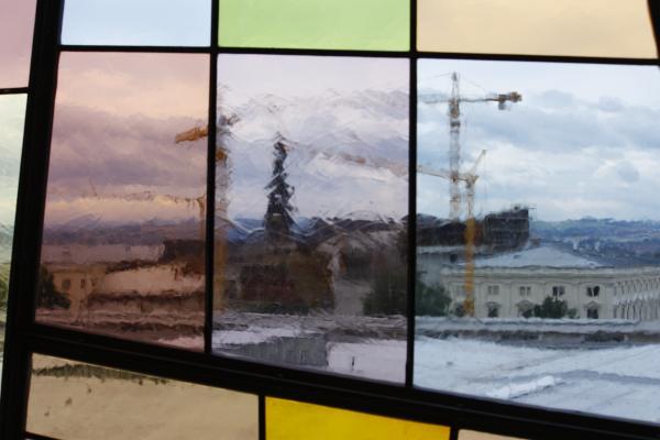 Architektur, Dresden, Strömungsmaschinen