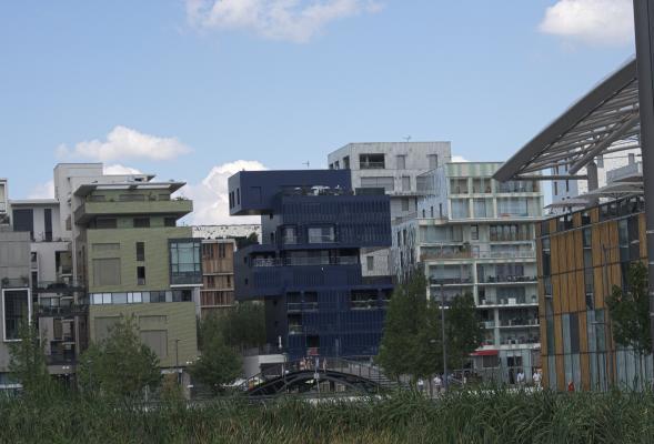 Architektur, Confluence, Frankreich, Lyon, Rhone