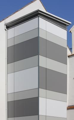 Altstadt, Architektur, Design, elegant, Fassade, grau, Görlitz, Oberlausitz, Schlesien, weiß