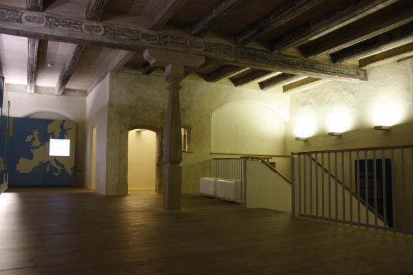Altstadt, Architektur, Deckenbemalung, Görlitz, Holz, Oberlausitz, Schlesien, Schlesisches Museum