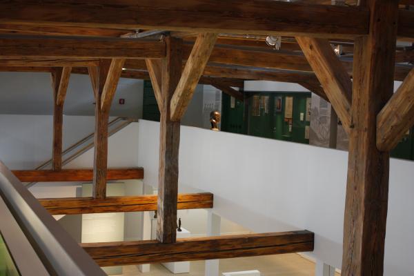 Altstadt, Architektur, Dachstuhl, Görlitz, Holz, Oberlausitz, Schlesien, Schlesisches Museum