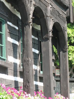 Oberlausitz, Architektur, Reiterhaus, Neusalza-Spremberg, Umgebinde, Museum