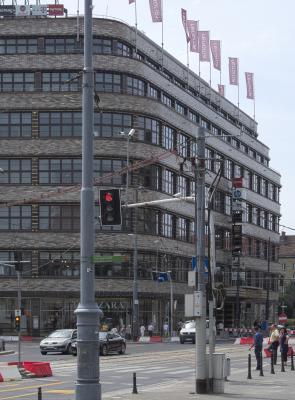 Architektur, Breslau Wroclaw, Geschäftshaus C&A, Sepp Kaiser, 1930-31, Moderne, Polen, Warenhaus Wertheim, Hermann Dernburg, 1929-1930