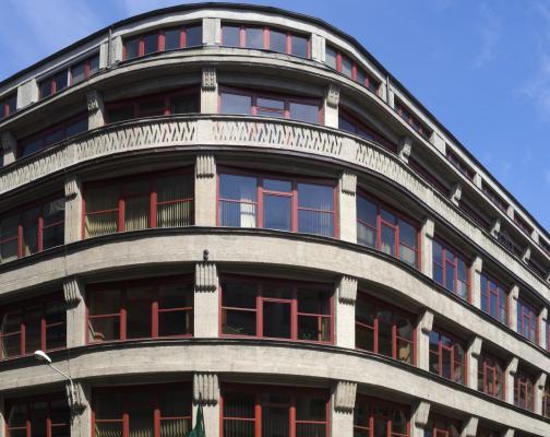 Architektur, Breslau Wroclaw, Geschäftshaus C&A, Sepp Kaiser, 1930-31, Geschäftshaus Junkernstraße, Hans Poelzig, 1911-1913, Moderne, Polen