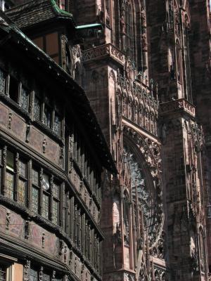 Urlaub, Architektur, Strasbourg, Frankreich