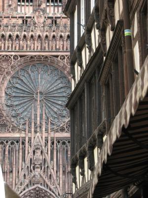 Frankreich, Urlaub, Architektur, Strasbourg
