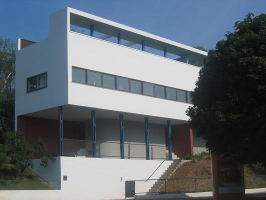 Architektur, Doppelhaus, Le Courbusier, Pierre Jeanneret, Stuttgart, Weissenhof-Siedlung
