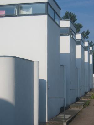Architektur, Einfamilienhaus, J.J.P. Oud, Moderne, Reihenhäuser, Stuttgart, Weissenhof-Siedlung