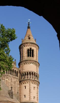 Architektur, Kirche, Rheinland-Pfalz, Romanik, Turm, Worms